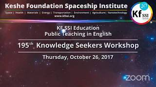 Video 195th Knowledge Seekers Workshop - Thursday, October 26, 2017 download MP3, 3GP, MP4, WEBM, AVI, FLV Desember 2017