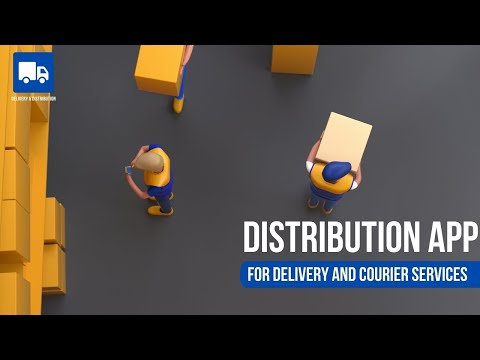 DISTRIBUTION: The software for delivery services