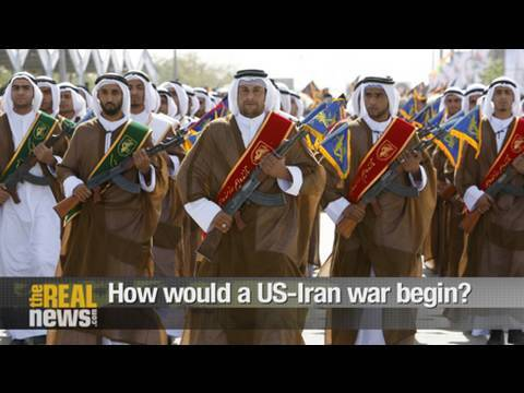 How would a US-Iran war begin?