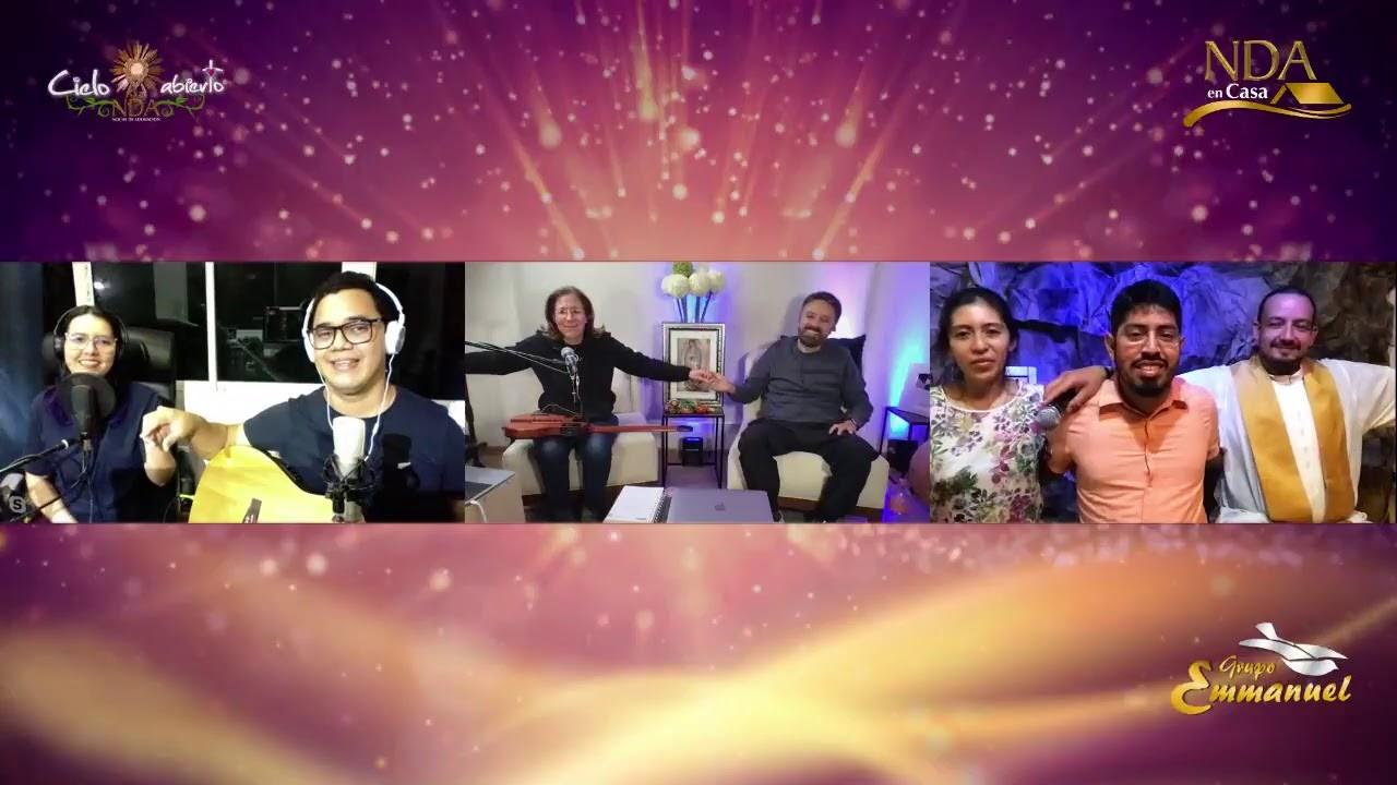 NDA en Casa con Pbro. Gustavo Mendieta / Yuli y Josh / Grupo Emmanuel