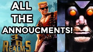 ALL The Major Gąme Announcements at 3D Realms Event - Realms Deep + NEW System Shock Info!