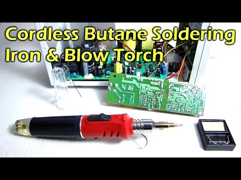 Wireless Soldering Iron Review By Parkside Lidl Uk Doovi