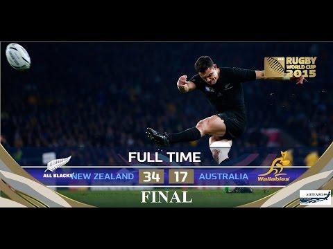 Rugby World Cup 2015 'full match' Final -  All Blacks vs Wallabies