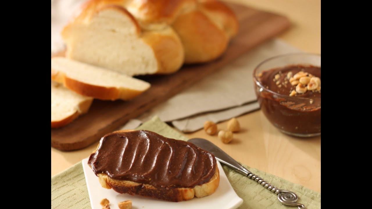 Ricetta Nutella Uccia3000.Nutella Fatta In Casa Naturale E Buonissima Youtube