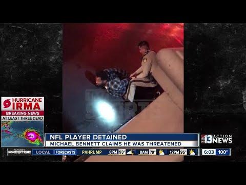 UPDATE: Las Vegas police show video of Michael Bennett running from hotel-casino