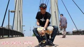 Gon Bops Artist, Willy Calderon, Delivers Bongo Solo In Tokyo, Japan
