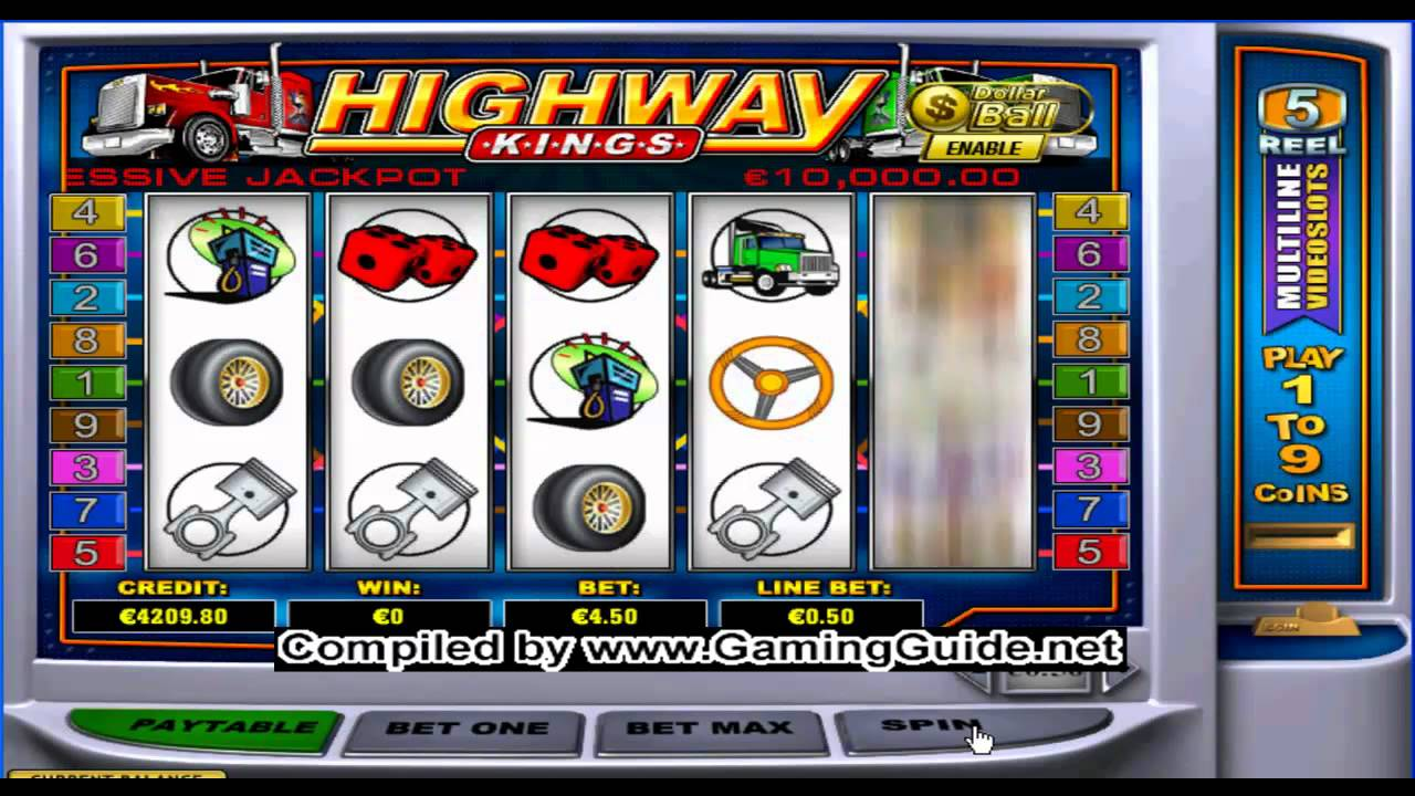 Play Highway Kings Slot for Free Online - No Download