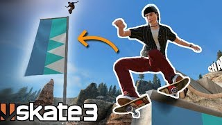 Skate 3: MEGA PARK FLAG GRIND CHALLENGE!?