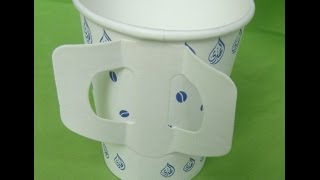 TB-12 Paper cup handle adhesive/fixing machine