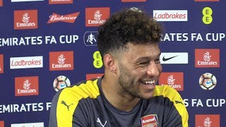 Alex oxlade-chamberlain full pre-match press conference - arsenal v chelsea - fa cup final