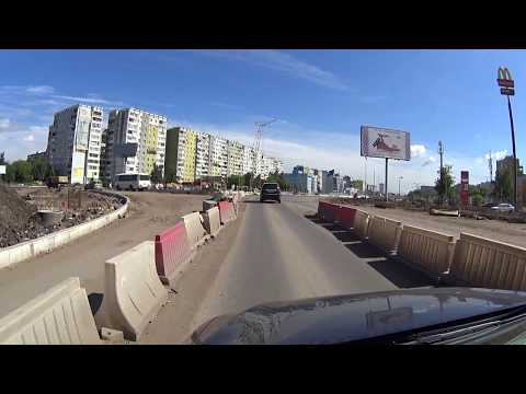 Реконструкция московского шоссе  #Samara   29 июня 2017 год