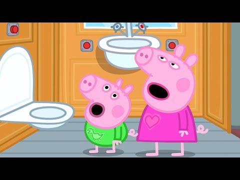 Peppa Pig Official Channel | Peppa Pig's Bedtime on a Train!