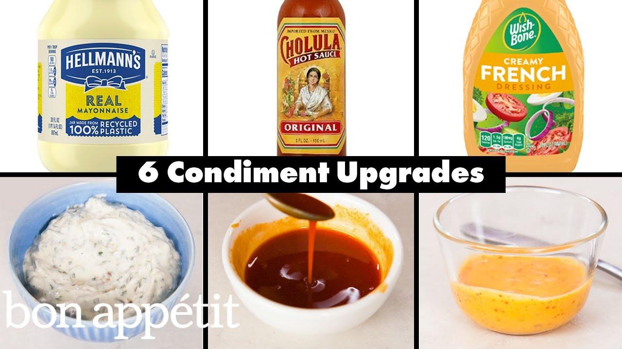 Pro Chefs Upgrade 6 Classic Condiments | Bon Appétit