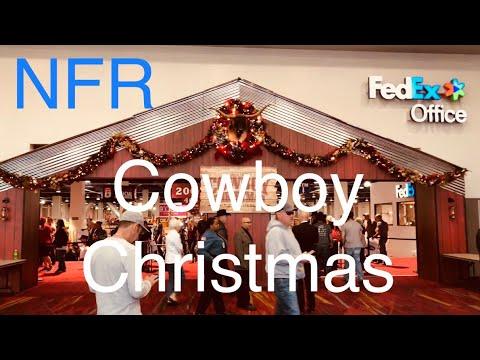 nfrs cowboy christmas las vegas in 4k