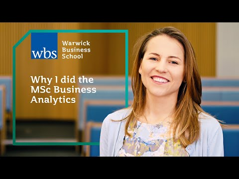 Why I Did MSc Business Analytics