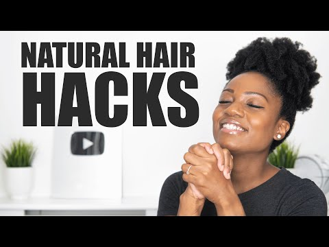 Download 12 Natural Hair Hacks You NEED TO KNOW ABOUT!!! 🙌🏾