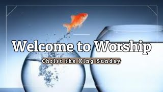 Trinity Lutheran Church - Online Worship Service - Christ the King Sunday