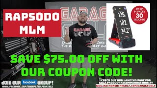 Save $75.00 off Rapsodo Mobile Launch Monitor with our Coupon Code! Ends 4/27/20!!