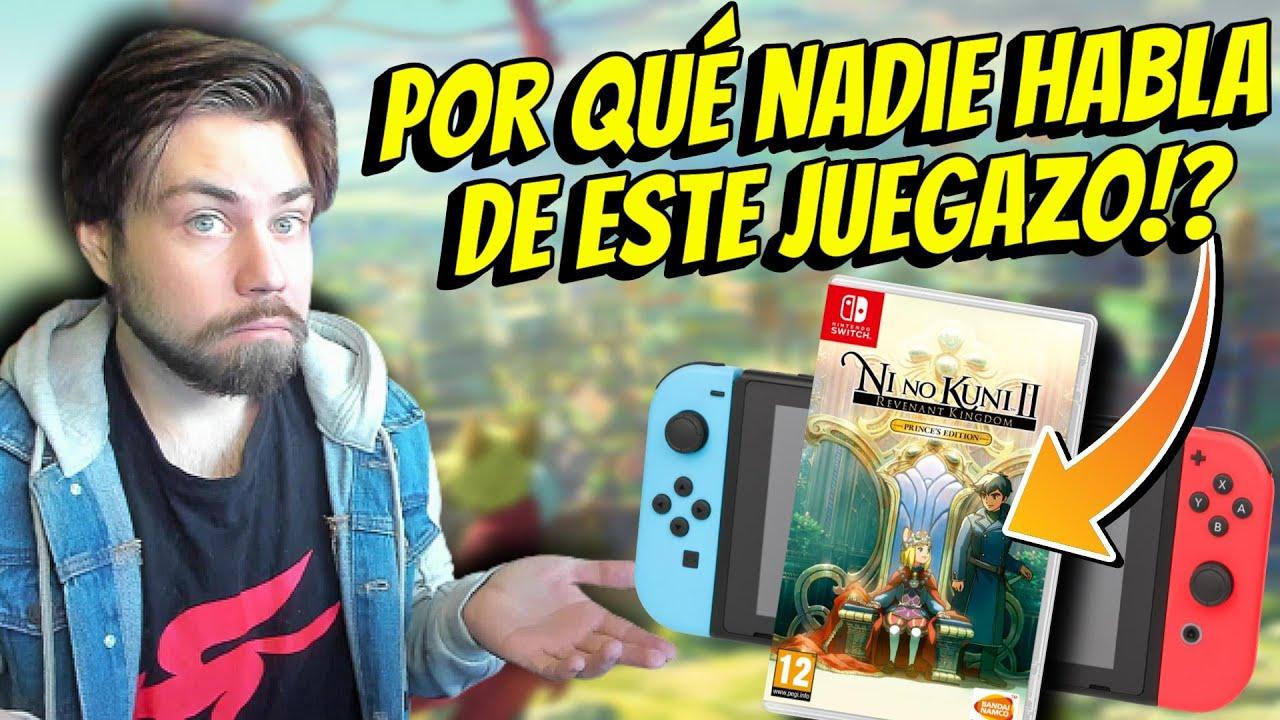 Llega un JUEGAZO a Nintendo Switch Y NADIE LO MENCIONA! Ni No Kuni II Es un BUEN PORT?