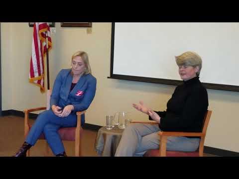 Part 4, Beth Vercolio-Osmund and Murri Briel, Democratic Congressional Candidates, IL 16TH