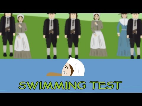 Witch Trial: Swimming Test