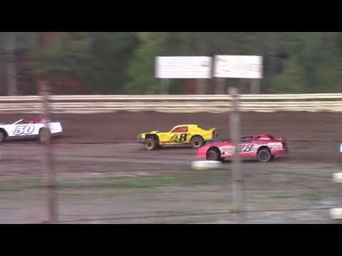 Hummingbird Speedway (9-16-17): Cypress Clock & Gift Shop Street Stock Heat Race #2
