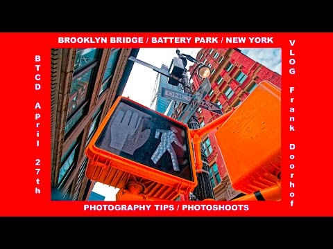 Brooklyn bridge and Battery park some tips and more BTCD April 27 2017
