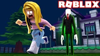 RUN AND HIDE FROM SLENDERMAN! (Roblox)