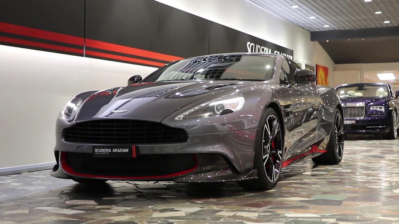 2017 Aston Martin Vanquish S Scuderia Graziani Youtube