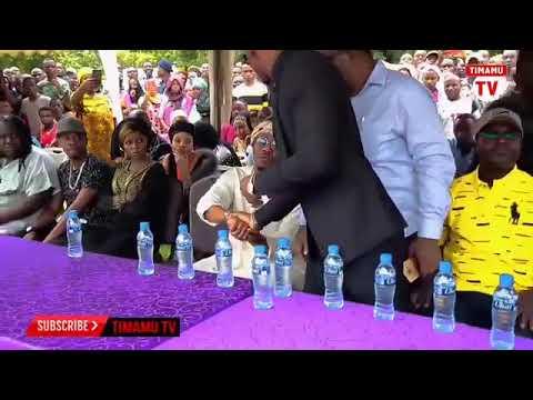 Harmonize Amgomea AliKiba katika Msimba wa Agnes Masogange
