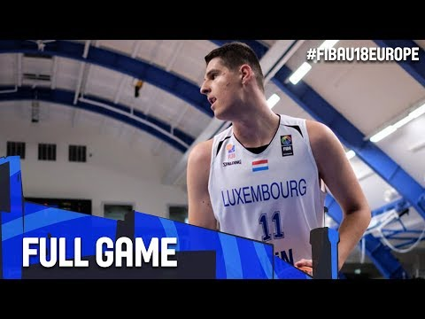 Albania v Luxembourg - Full Game - FIBA U18 European Championship 2017 - DIV B