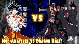 animazox akatsuki team vs dragon ball team full fight 2017