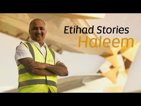Meet Haleem | Etihad Airways Stories