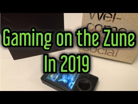 Gaming On The Zune 30GB In 2019 - Unboxing And Games Retrospective   DBPG