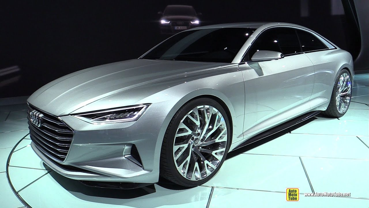 2016 audi a9 prologue concept exterior walkaround 2014 la auto show youtube. Black Bedroom Furniture Sets. Home Design Ideas