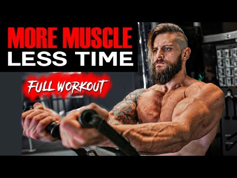 MOST EFFECTIVE TRAINING For More MUSCLE | CHEST • BICEPS • QUADS | All Exercises Shown (DAY 2) thumbnail