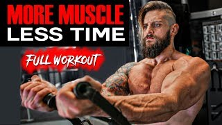 MOST EFFECTIVE TRAINING For More MUSCLE | CHEST • BICEPS • QUADS | All Exercises Shown (DAY 2)
