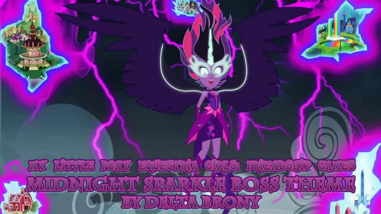 Mlp Eqg Friendship Games Midnight Sparkle Boss Theme