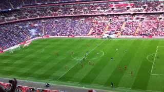 Andy Carroll goal FA Cup Semi-Final 2012