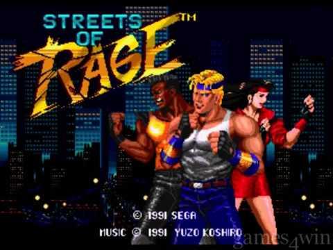 Streets Of Rage Inspired Instrumental - Jeff Jones The Producer