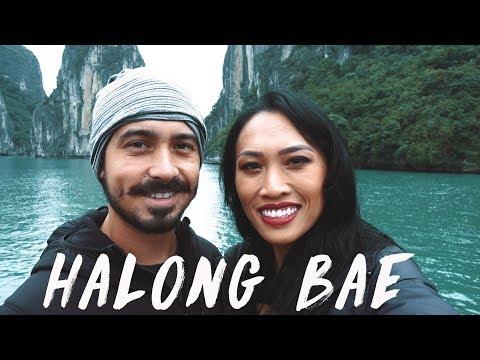 HALONG BAY TOUR   VIETNAM TRAVEL VLOG