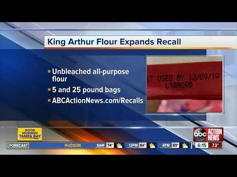 king-arthur-flour-recalls-some-unbleached-all-purpose-flour-for-possible-e.-coli-contamination