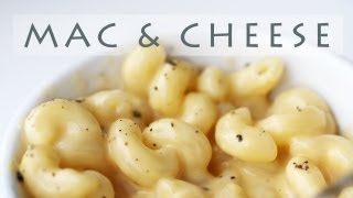 Easy Stove-top Mac And Cheese Recipe 마카로니 앤 치즈 만들기 Macarrones Con Queso