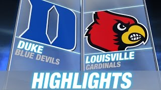 Duke vs Louisville | 2014-15 ACC Men