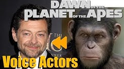 """Dawn of the Planet of the Apes"" Voice Actors and Characters"