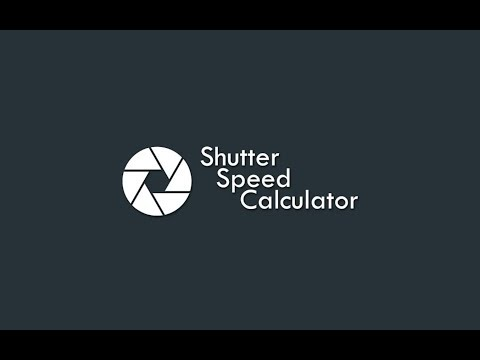 Shutter Speed Calculator - Apps on Google Play