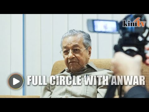 1998-2018: Mahathir on coming full circle with Anwar