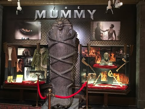 The Dark Universe Arrives At Universal Orlando With The Mummy!