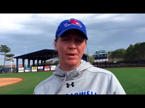 Head Coach Danielle Henderson Postgame on Day Two at UNCW Invitational