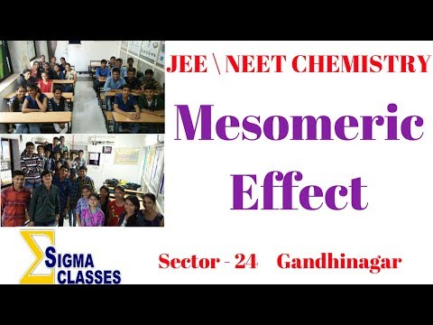 Trick For Mesomeric Effect | CHEMISTRY | JEE \ NEET | By Chintan Sir